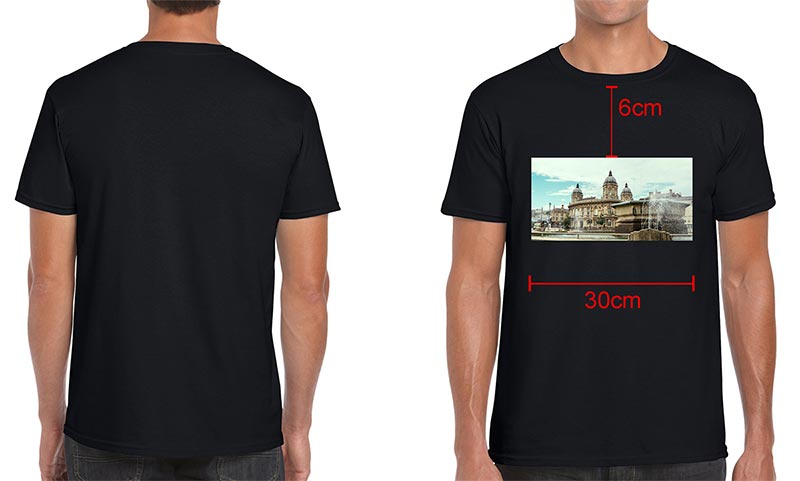 T-shirt-pritning-in-Hull,-garment-preview..